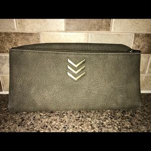 Express flat fold over crossbody NEVER USED